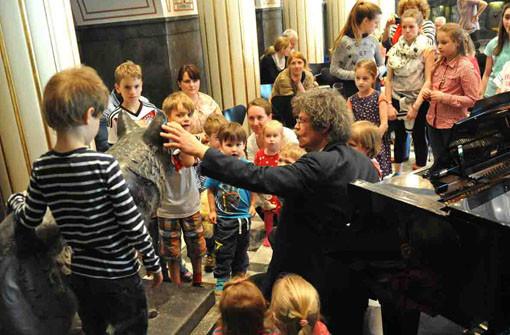 Stuttgarter Saloniker: Children's Corner auf dem Fernsehturm